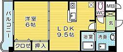 サンライズK[103号室]の間取り
