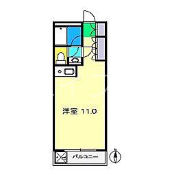 サンポートハイム高須[4階]の間取り
