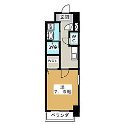 プライマリーステージ[6階]の間取り