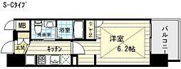 エステムプラザ梅田・中崎町IIIツインマークス サウスレジデンス[8階]の間取り