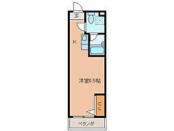 カーサ小川[1階]の間取り