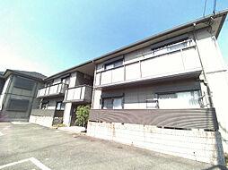 大阪府高槻市岡本町の賃貸アパートの外観