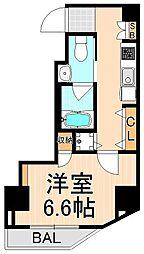 エルニシア上野Northeast[403号室]の間取り