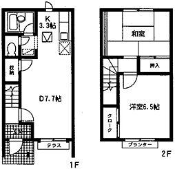 [テラスハウス] 神奈川県横浜市戸塚区品濃町 の賃貸【/】の間取り