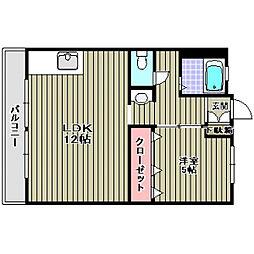 西興ビル (ST)[2階]の間取り