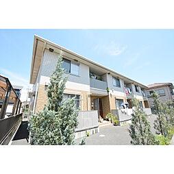 埼玉県川越市並木西町の賃貸アパートの外観