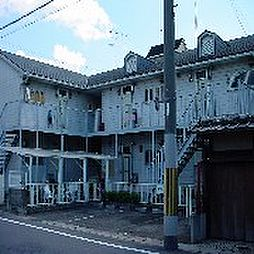 京都府京都市右京区西京極火打畑町の賃貸アパートの外観