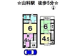 京都府京都市山科区安朱東海道町
