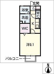 仮)D−room那加前洞新町[2階]の間取り