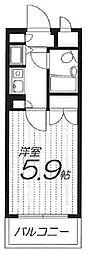 アーバンパーク護国寺[0307号室]の間取り