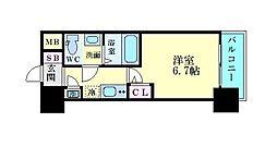 JR東海道・山陽本線 東淀川駅 徒歩1分の賃貸マンション 1階1Kの間取り