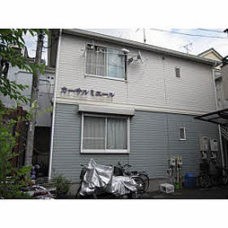 神奈川県川崎市高津区諏訪3丁目の賃貸アパートの外観