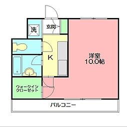 メドウスいずみ中央[1階]の間取り