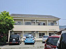 山梨県甲府市国玉町の賃貸アパートの外観
