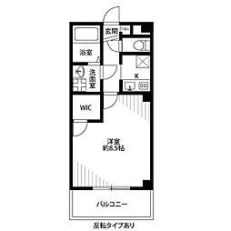Casa Domani[105号室]の間取り