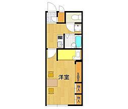 レオパレスAKURA5[1階]の間取り