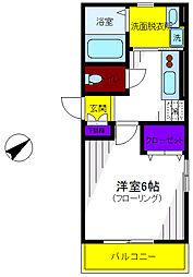 グレイスバレー[1階]の間取り