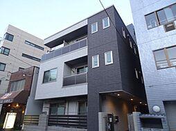 大阪府大阪市天王寺区東高津町の賃貸アパートの外観
