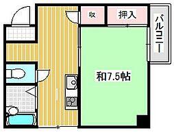 筒井ハイツ[2階]の間取り