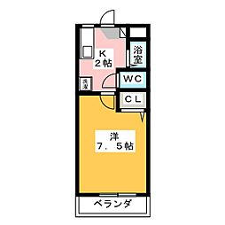サンコーポ・ヒロ[2階]の間取り