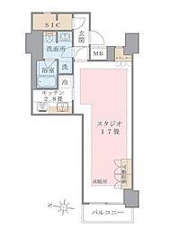 アパートメンツ東雲キャナルコート[409号室]の間取り