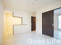 福岡県福岡市中央区西公園丁目なしの賃貸アパートの外観