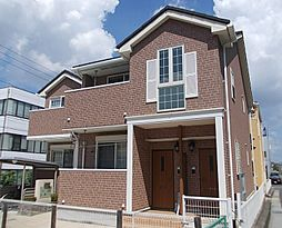 愛知県名古屋市名東区牧の原2丁目の賃貸アパートの外観