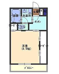 リブリ・KADOMA[2階]の間取り