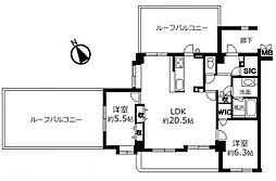 入間市東藤沢1丁目 リナージュ武蔵藤沢 3方向角 大型ルーフバ