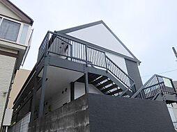 千葉県松戸市小金原9丁目の賃貸アパートの外観