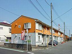 千葉県船橋市高野台の賃貸アパートの外観