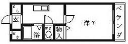 プランドール春日丘[303号室号室]の間取り