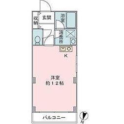 第三大出ビル[3階]の間取り