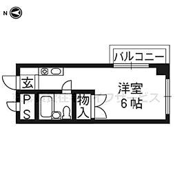 西田マンション[305号室]の間取り