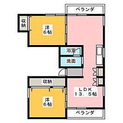 Cache-Cache[2階]の間取り