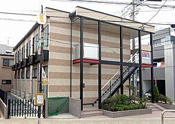 東京都江戸川区松江2丁目の賃貸アパートの外観