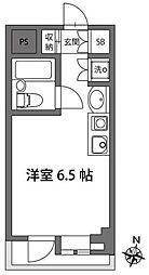 グレース仙川[2階]の間取り