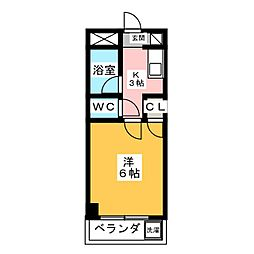 青山マンション[3階]の間取り