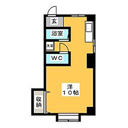 ITO BUIL[3階]の間取り
