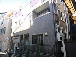 東京都目黒区祐天寺2丁目の賃貸アパートの外観
