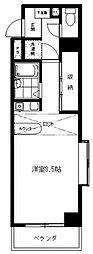 スターマイン生田[508号室号室]の間取り