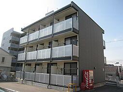 大阪府四條畷市大字清瀧の賃貸アパートの外観