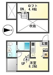 solare[1階]の間取り