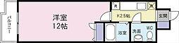 アヴィニール竪町[4階]の間取り