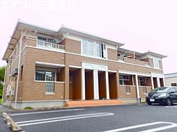 三重県三重郡朝日町大字柿の賃貸アパートの外観