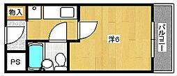セルフハイム茨木[1階]の間取り