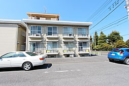 東京都武蔵村山市大南4丁目の賃貸アパートの外観