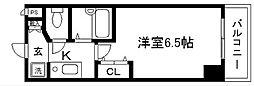 プレサンス京都烏丸御池[304号室]の間取り