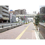 整頓された街並みが特徴です