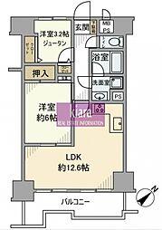 ライオンズマンション和田町第2[2階]の間取り